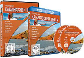 DVD Cover 'Entlang der Kanarischen Inseln'