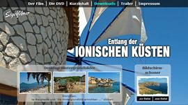 """Webseite """"Entlang der Ionischen Küsten"""""""