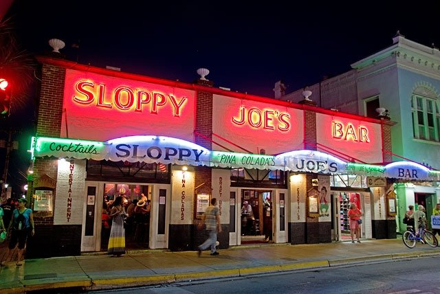 Sloppy Joe's Bar, einst Ernest Hemmingways Stammlokal