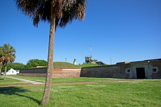 ... in Fort Moultrie bei Charleston.
