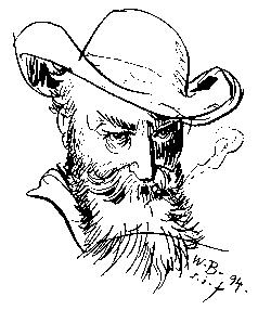 Wilhelm Busch, Selbstportrait