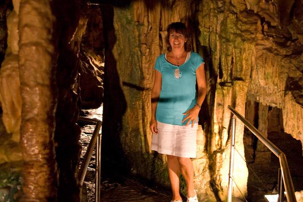 Tropfsteinhöhle bei Pirgos Dirou