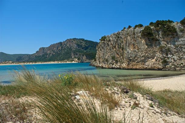 Der Strand der Ochsenbauchbucht