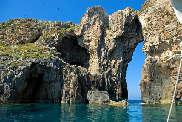 Inselformation vor Pylos